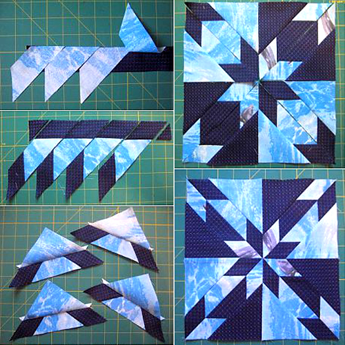 Hunter's Star Quilt Block - Quick & Easy Tutorial