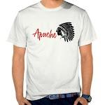 Kaos Distro Pria Apache SK11 Asli Cotton
