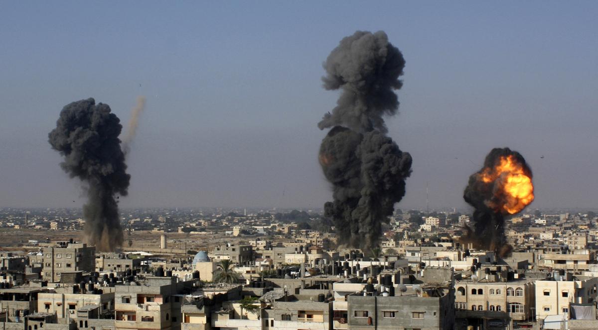 Biadab, Zionis Israel Serang Utara Kota Gaza