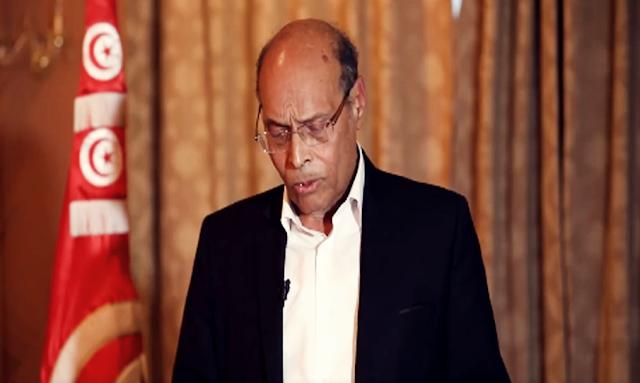 الرئيس السابق محمد منصف المرزوقي يُغادر الحياة السياسية نهائيًا