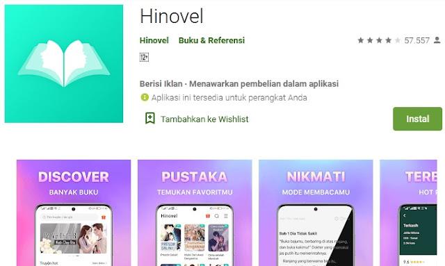 aplikasi baca novel gratis terlengkap