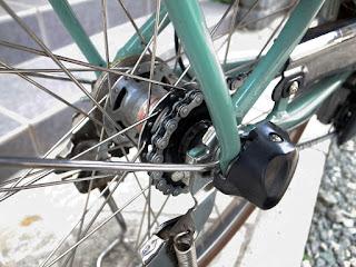 電動アシスト自転車 ヤマハパスのチェーンメンテナンスafter