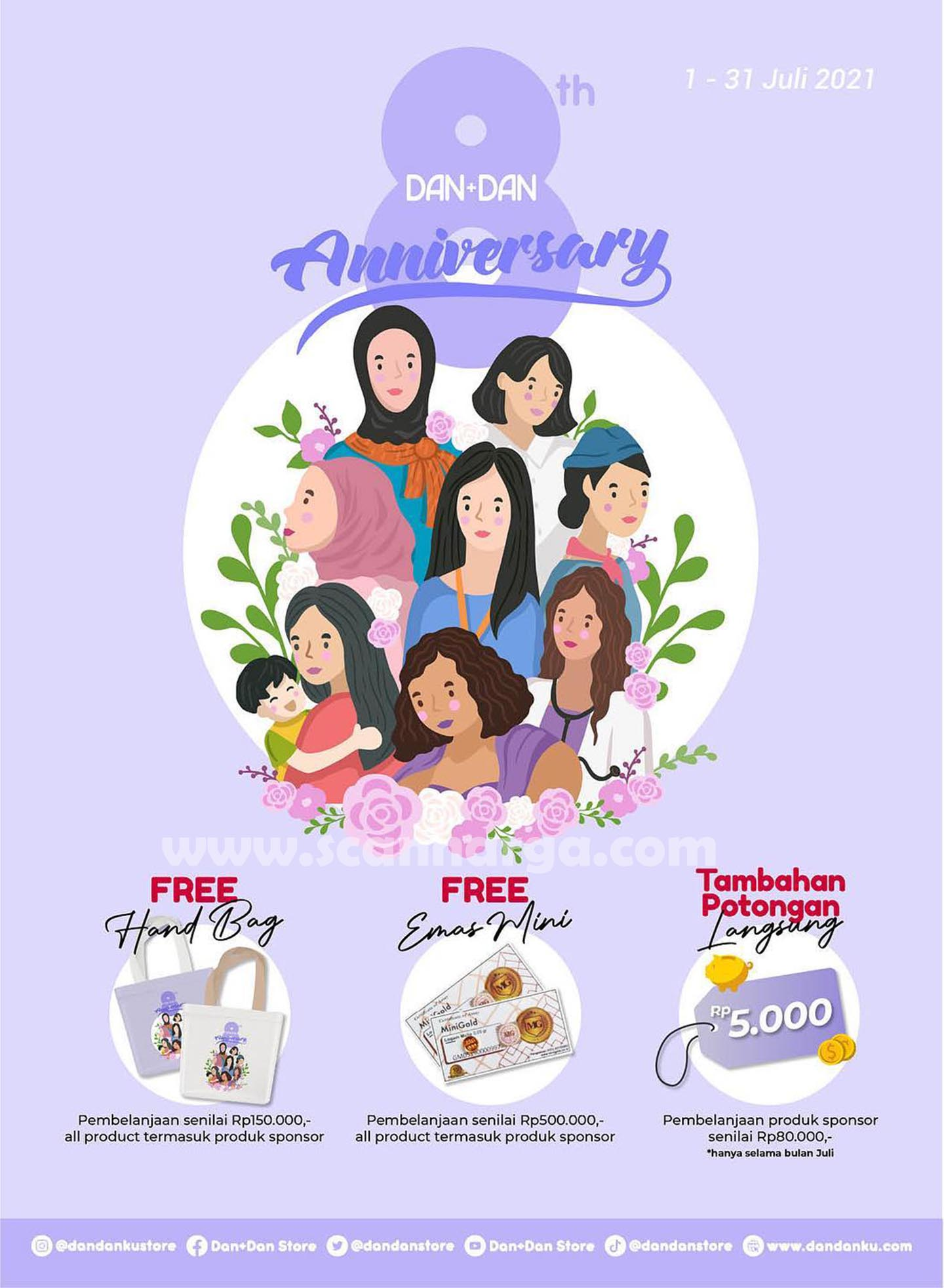Katalog Promo Harga DAN+DAN Terbaru Periode 1 - 31 Juli 2021