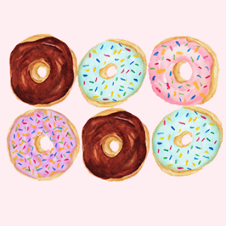 sweets and donuts art