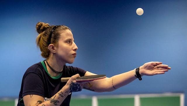 Jennyfer Parinos, medalhista paralímpica, disputa a Seletiva Mundial para Tóquio