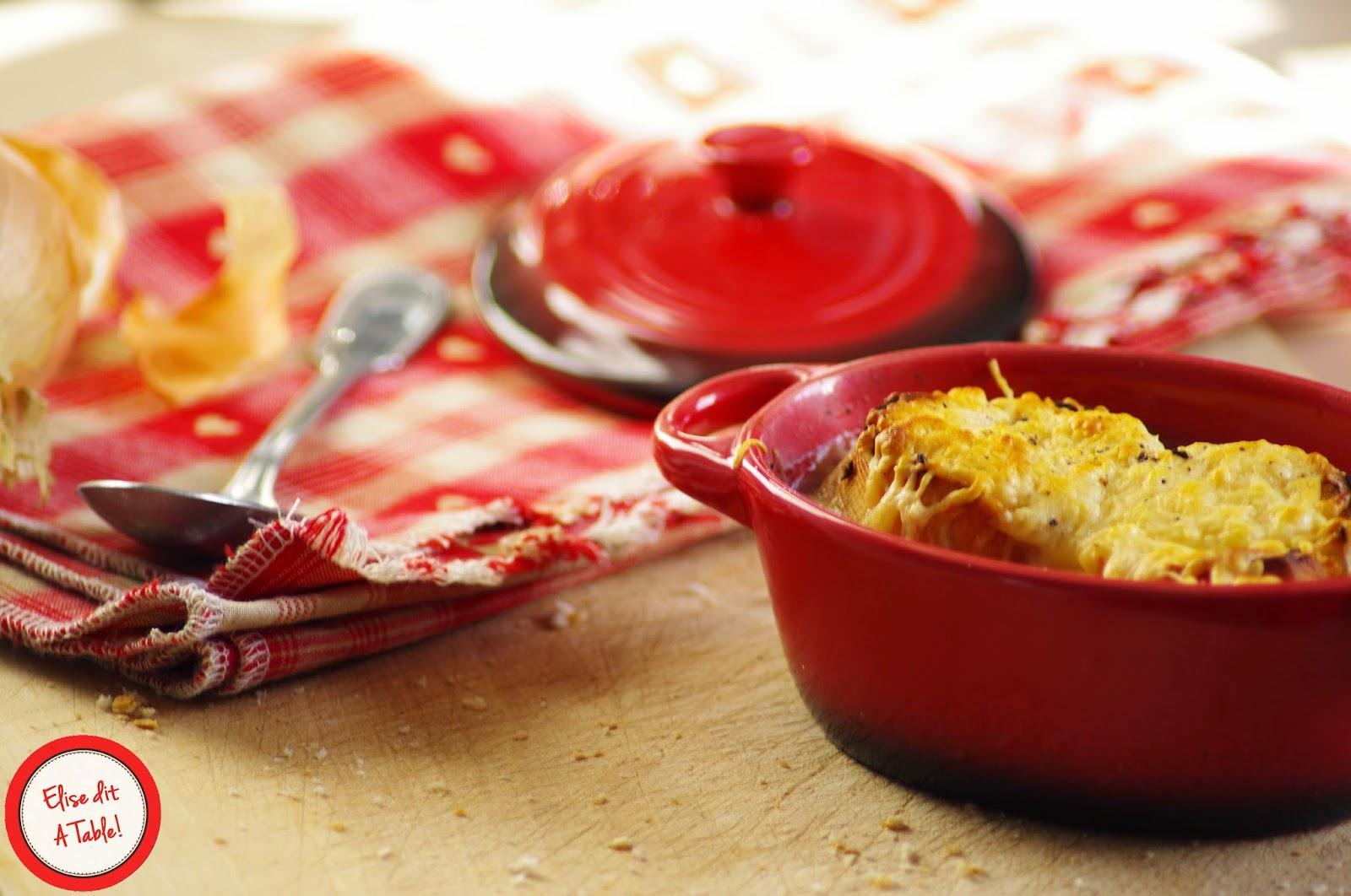 Recette soupe l 39 oignon gratin e blog cuisine - Soupe a l oignon gratinee ...