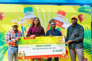 LIPTON NIGERIA DONATES 10,000 DOLLARS TO WAVE