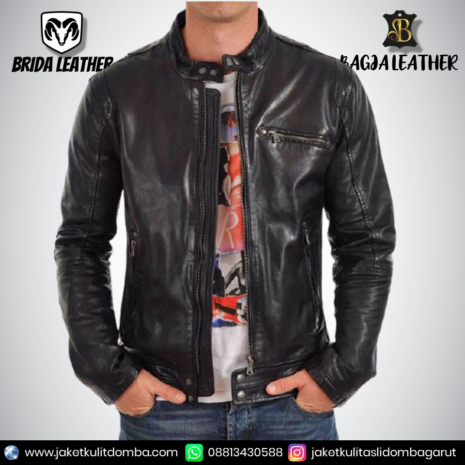 jaket kulit ariel peterpan