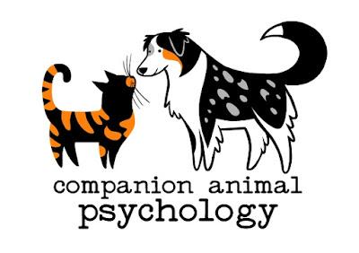 The Companion Animal Psychology logo, designed by Lili Chin