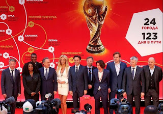 FIFA World Cup Trophy to make the longest-ever journey around Host Country
