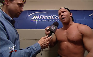 WWE / WWF King of the Ring 2000 - Michael Cole interviews Crash Holly