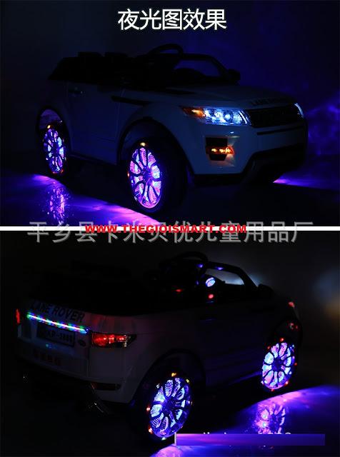 Xe ô tô điện trẻ em Land Rover