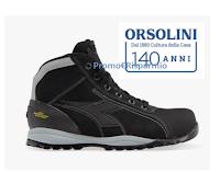 """""""140 anni Orsolini"""" : ritira gratis un paio di scarpe antinfortunistiche (senza obbligo di d'acquisto)"""