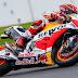 MotoGP: Márquez voló en la clasificación de Silverstone