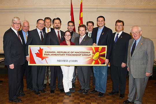 Parliamentary Friendship Group established in Canada