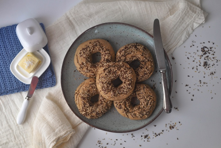 the perfect gluten free Bagels (vegan, too, if you want)