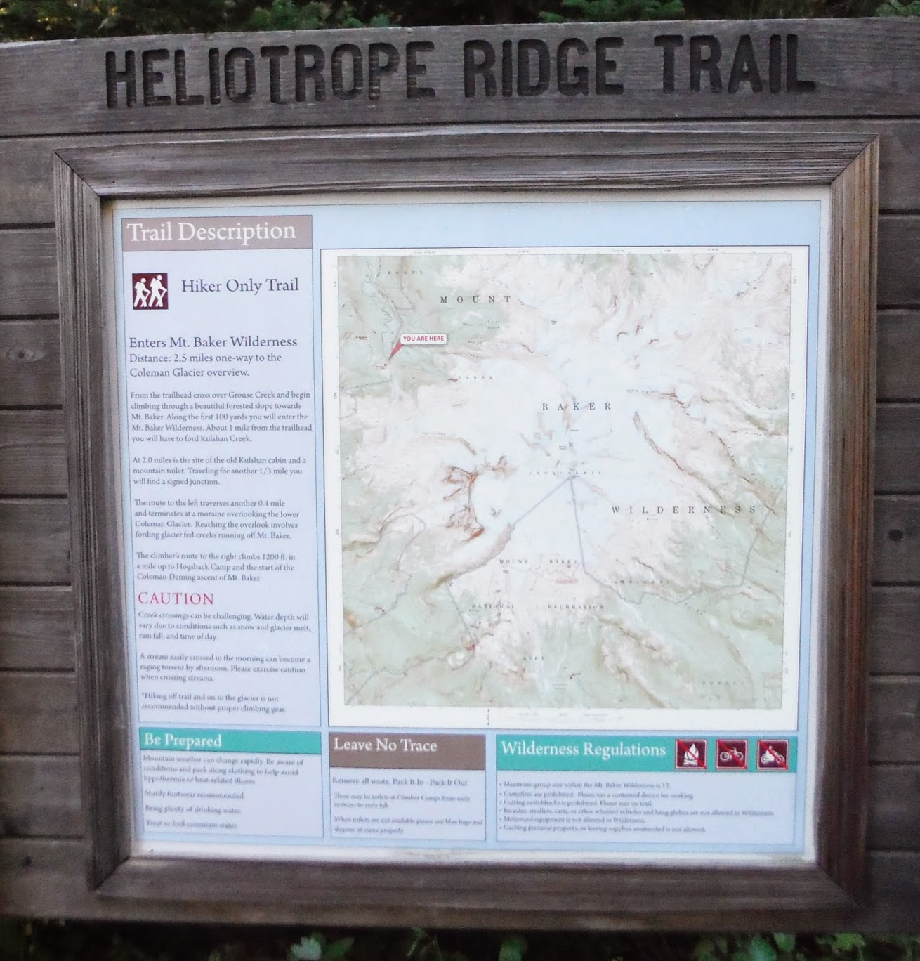 Discover Outdoors: Hiking Heliotrope Ridge - a view from the top