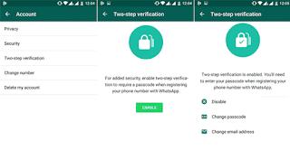 Cara Membuat Verifikasi 2 Langkah di Whatsapp