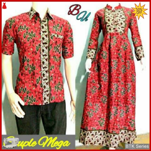 BTK113 Baju Sarimbit Gamis Mega Modis Murah BMGShop