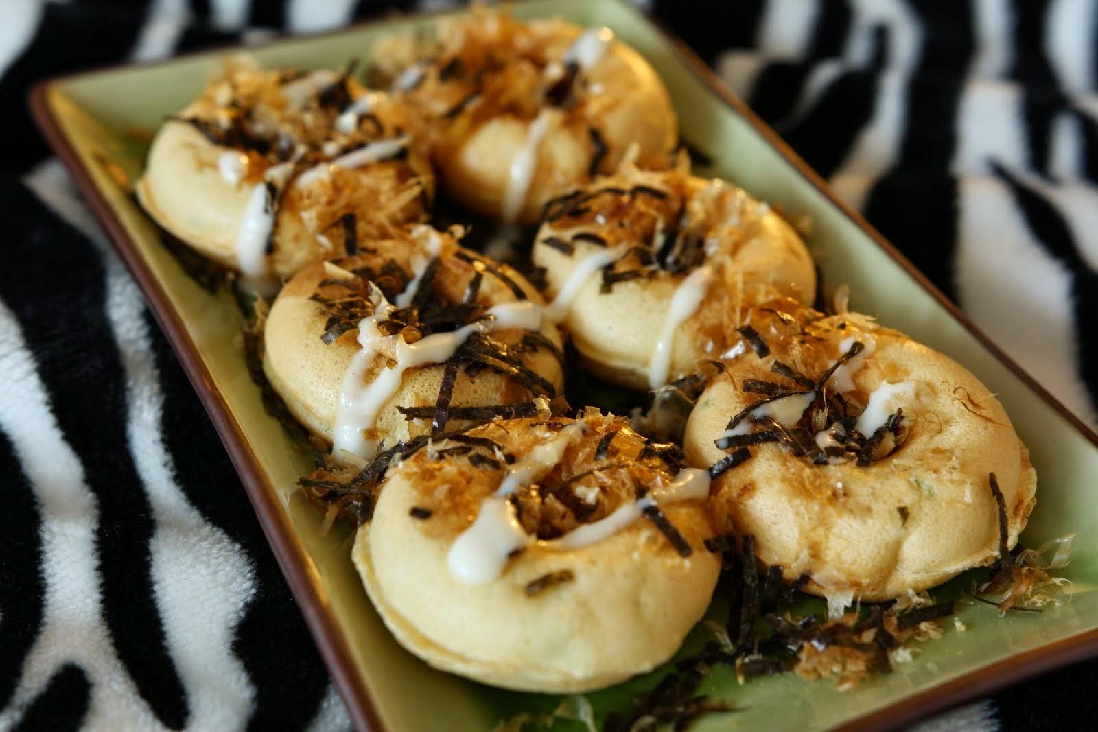 Takoyaki in Donut Shape... Takonut?