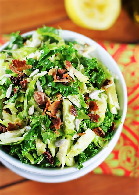 Shredded Brussels Sprouts Salad Image