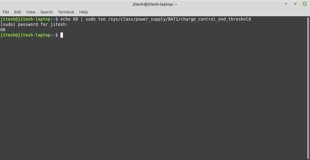 Linux terminal 1
