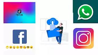 تطبيق رائع لتحميل حالات الواتساب وأنستجرام وفيديوهات الفيسبوك والتيك توك