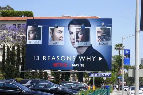 13 Reasons Why season 2 billboard