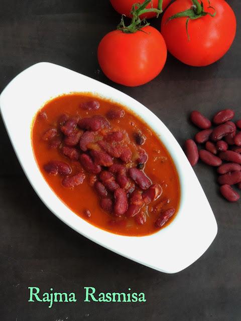Rajma Rasmisa,Kidney beans Rasmisa