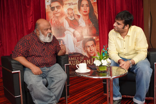 Interviewing veteran actor Saurabh Shukla