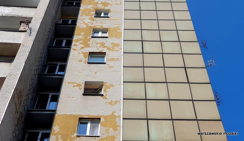 warszawskie osiedla Warszawa Warsaw blok bloki blokowisko PRL lata 60 Teresa Tyszyńska Gabriel Rekwirowicz architektura