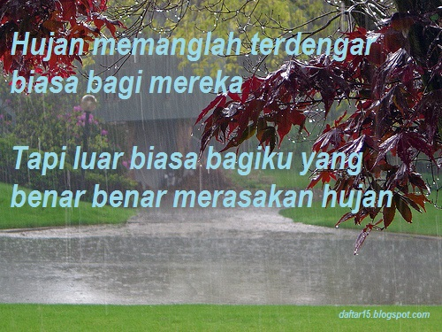 Kata Kata Bersyukur Atas Turunnya Hujan