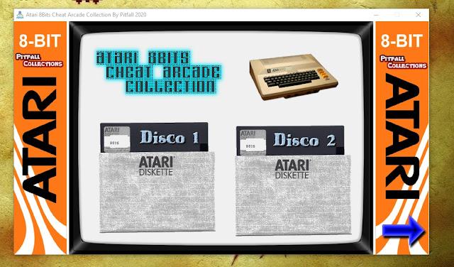 Atari 8Bits EF Arcade Collection