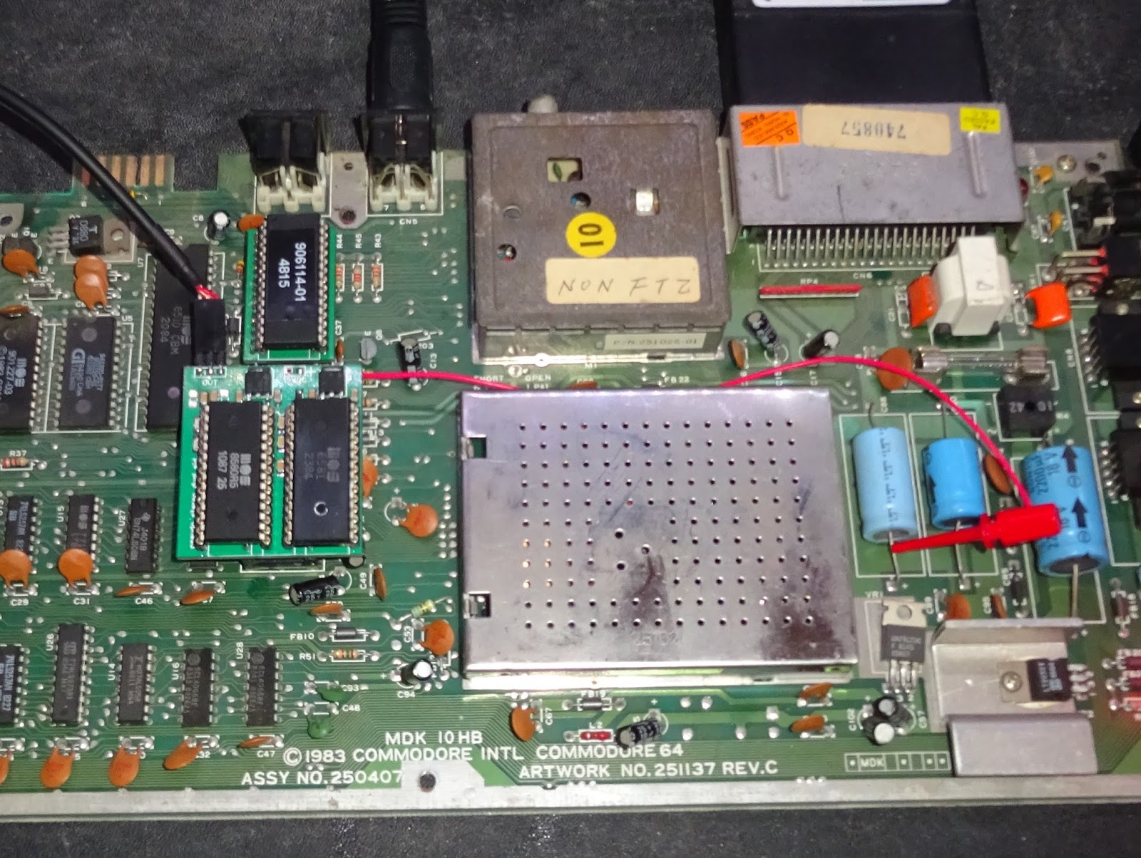 Tynemouth Software: Commodore 64 Pseudo Stereo Dual SID boards