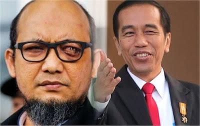 Kasus Novel, Menyiram Dengan Sengaja Wajah Rezim Jokowi?