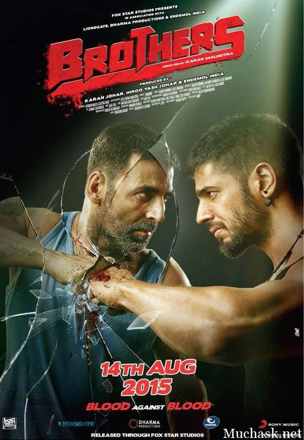 Brothers (2015) Full Movie Download In Hindi Bluray | 720p [1.2GB] |