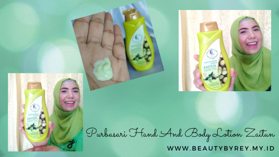Review Purbasari Hand And Body Lotion Zaitun