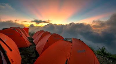 Plawangan Sembalun Crater 2639 meters Mount Rinjani