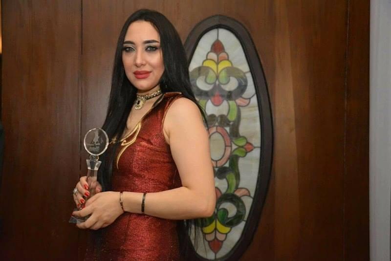 """هبه يوسف تلفت الانظار في مهرجان """"ملكة جمال العرب"""""""