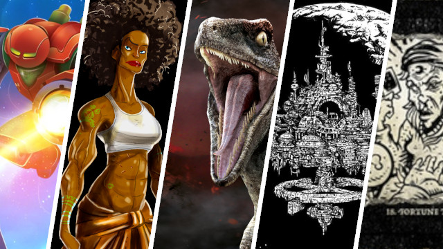 Kickstarter Highlights - Dig Your Way Out, Jurassic World Miniatures Game Escape the Dark Sector Storymasters Tales Weirding Woods Two Robots