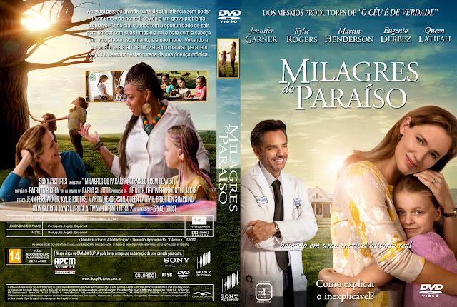 Capa DVD Milagres Do Paraíso