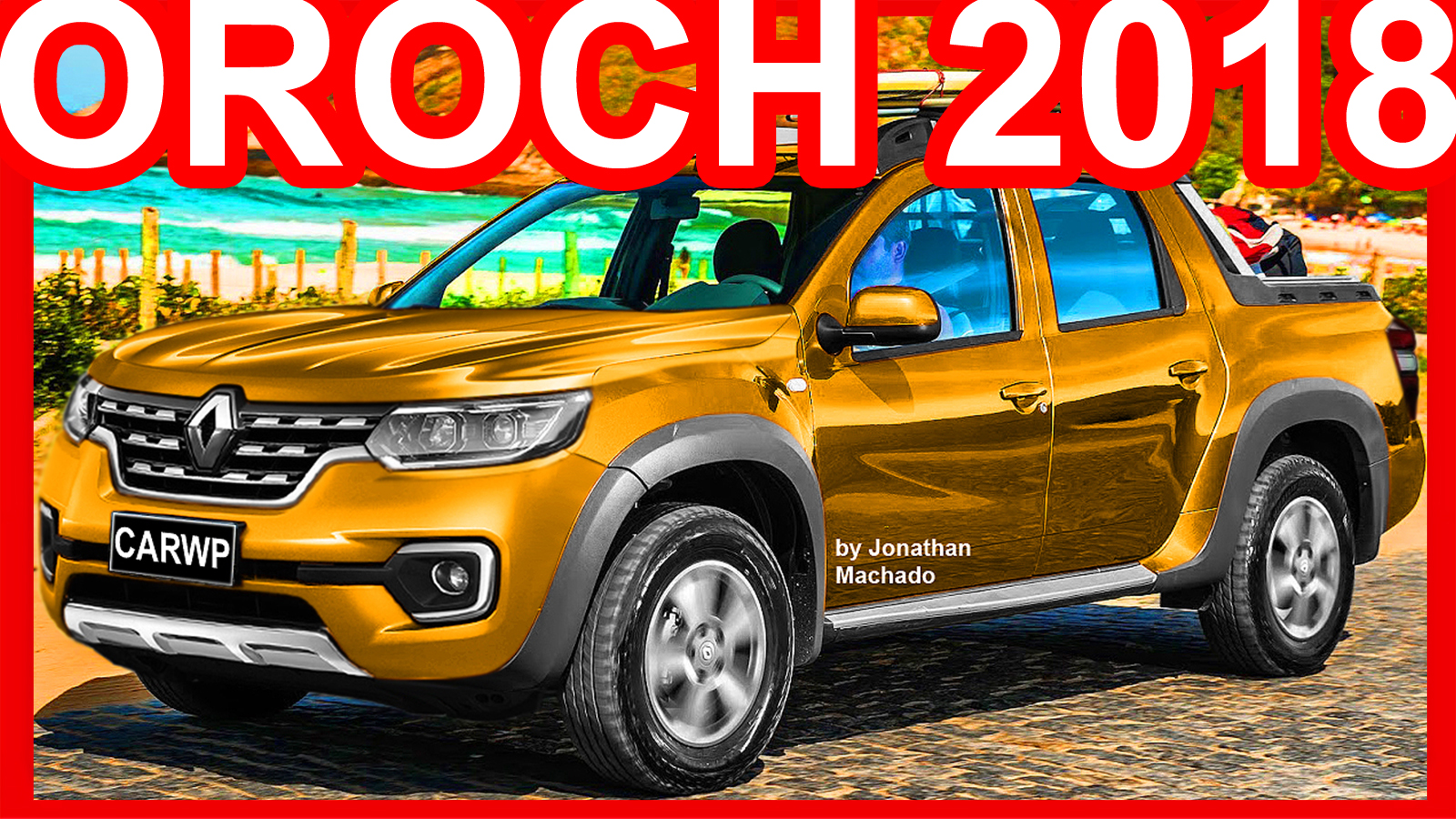 jms renault duster oroch 2018 facelift duster carwp. Black Bedroom Furniture Sets. Home Design Ideas