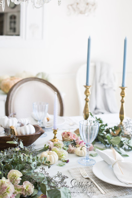 beautiful autumn inspired table