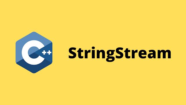 HackerRank StringStream solution in c++ programming