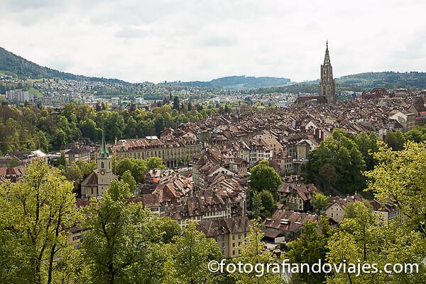 Berna, Suiza desde el parque de las Rosas