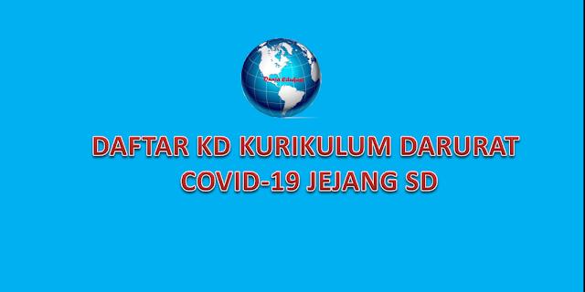 KD Kurikulum Covid-19