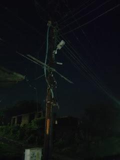 स्ट्रीट लाइट खराब, लोग परेशान | #NayaSaberaNetwork