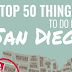 Top 50 Things to Do in San Diego #infographic