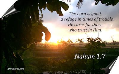 Nahum 1:7 bible verse