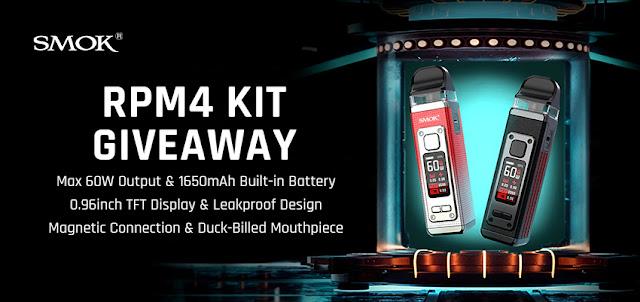 SMOK RPM 4 Kit Giveaway